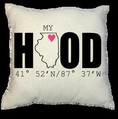 Pillow - My Hood