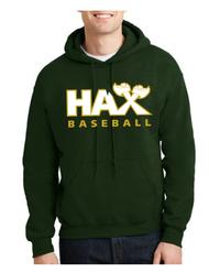 HAX BASEBALL HOODED SWEATSHIRT