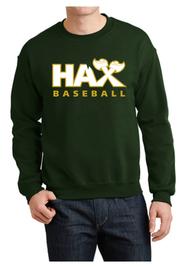 HAX BASEBALL CREWNECK SWEATSHIRT