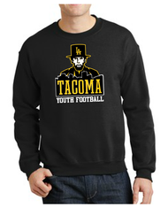 LINCOLN YOUTH FOOTBALL (BLACK ONLY) YOUTH CREWNECK SWEATSHIRT