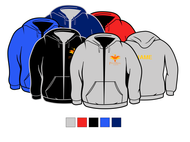 PHOENIX RISING SCHOOL  FULL ZIP HOODED SWEATSHIRT