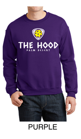 """THE HOOD"" PICKLEBALL CREWNECK SWEATSHIRT"