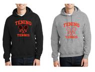 TENINO TENNIS HOODED SWEATSHIRT