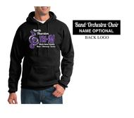 NTHS TRI-M HOODED SWEATSHIRT