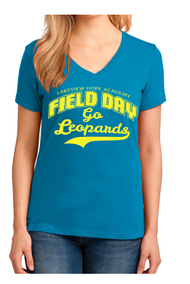 LAKEVIEW HOPE FIELD DAY LADIES V-NECK T-SHIRT