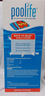 poolife® Back to Blue® Shock System