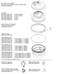 PARAMOUNT CLEANING SYSTEM WATER VALVE PARTS