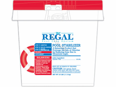 how to raise stabilizer in salt water pool