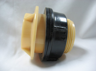 BULKHEAD FITTING, BAKER HRV FILTER (31B9004)
