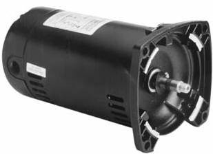 1 HP , 2 Speed, Square Flange Pump Motor (QS1102)