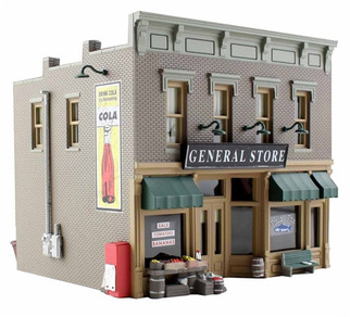 BR5021  Woodland Scenics HO Lubener's General Store