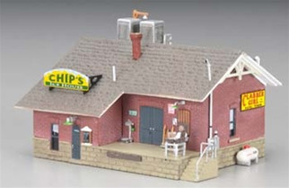 BR4927 Woodland Scenics N Scale Chips Ice House