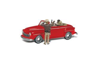 AS5537 Woodland Scenics HO Cop'n a Kiss
