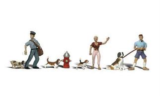 A2768 O Woodland Scenics People & Pets