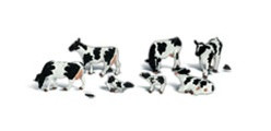 A2187 Woodland Scenics Holstein Cows (N Scale)