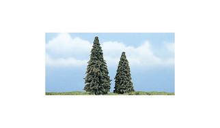 """TR1625 Woodland Scenics Premium Conifer Tree, 3-4"""" (2)"""