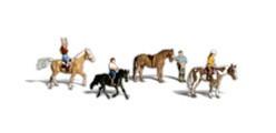 A2159 Woodland Scenics Horseback Riders (N Scale)