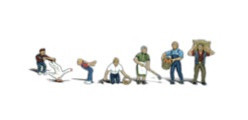 A2152 Woodland Scenics N Scale Scenic Accents(R) Figures Farm People