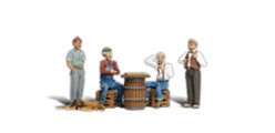 A2132 Woodland Scenics N Scale Scenic Accents(R) Figures Checker Players