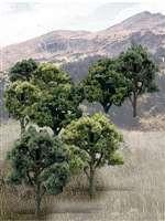 TR1572 Woodland Scenics Mixed Green Colors Trees