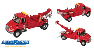 949-11531 HO Walthers(R) SceneMaster International 4300 Tow Truck-Assembled