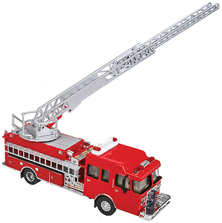 949-13801 HO Walthers SceneMaster Heavy-Duty Ladder Truck