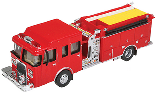 949-13800 HO Walthers SceneMaster Heavy-Duty Fire Engine