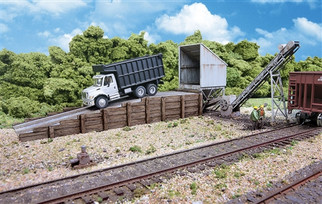 933-4058 HO Walthers Truck Dump Kit