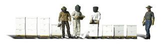 A1897 Woodland Scenics HO Beekeepers