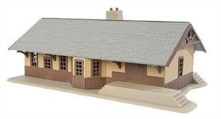 931-904 HO Walthers Trainline Iron Ridge Station Kit