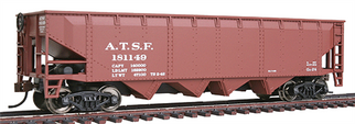 931-1651 Walthers Trainline 40' Offset Quad Hopper-Atchison, Topeka & Santa Fe