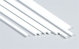 90604 Plastruct Tube Styrene 1/8""