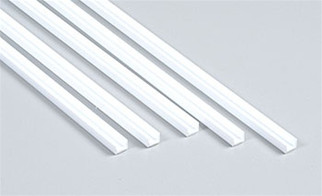 90585 Plastruct Deep Channel Styrene 1/4""