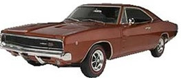 85-4202 Revell 1:25 '68 Dodge Charger Plastic Model Kit