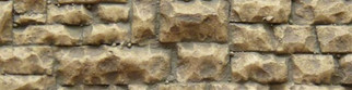 8252 HO/O Chooch Enterprises-Medium Random Stone Wall