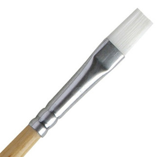 "8734 Testors 5/16"" Flat Paint Brush"