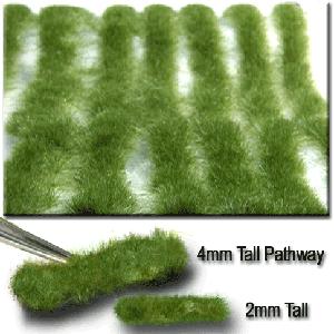 718-22 N/HO Miniatur Stripes of Grass-Short Summer