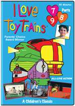 63183 TM Books DVD I LoveToy Trains Parts 7,8,9