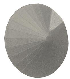 628-0706 N Scale Rix Products 30 Degree Grain Bin Top