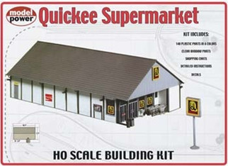 621 Model Power HO Quickee Supermarket Building Kit