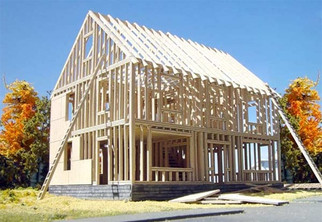 613 HO Branchline House Under Construction