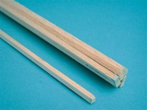 "6044 Midwest Products Balsa Wood 1/8"" x 1/8"" x 36"""