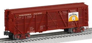 6-82515 O Scale Lionel Northern Pacific ACF Stock Car #84161