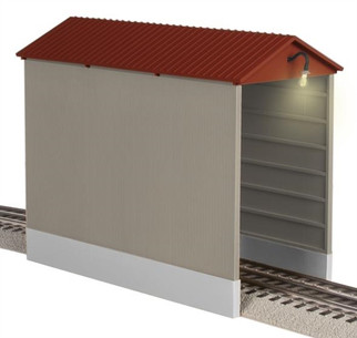 6-82333 O Scale Lionel Illuminated Hopper Shed
