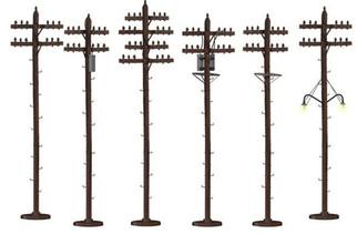 6-37939 O Lionel Telephone Poles