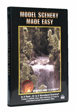 R973 Woodland Scenics DVD: Model Scenery Made Easy