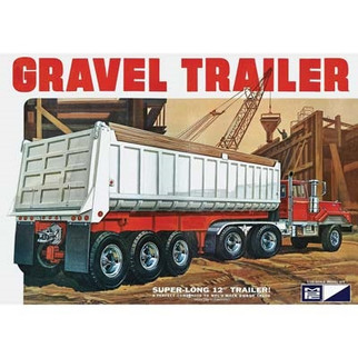MPC823 MPC Gravel Trailer 1/25 Scale Plastic Model Kit