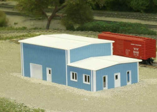 541-8017 N Scale Pikestuff Rix Products Office & Warehouse Kit