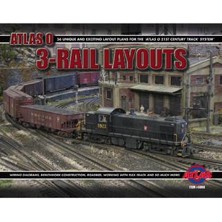 6008 Atlas O Thirty Six 3-Rail Layouts Book