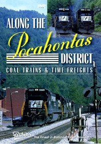 503 Pentrex Along the Pocahontas District Coal Trains & Time Freights DVD